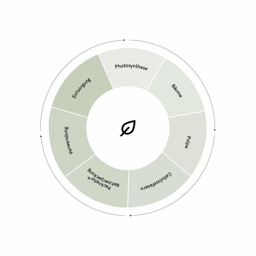 Der Cellulose Kreislauf, Kreislaufwirtschaft